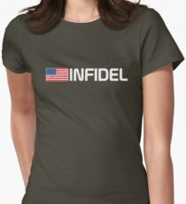 Vintage American Infidel Women's Fitted T-Shirt
