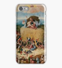 Hieronymus Bosch : The Hay Wain iPhone Case/Skin
