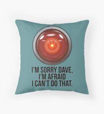 HAL Throw Pillow