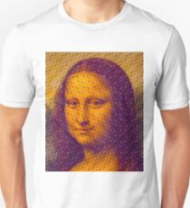 """WHIMSICAL MONA LISA"" ABSTRACT PRINT Unisex T-Shirt"