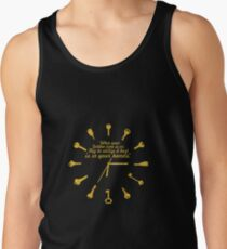 When golden time... Life Inspirational Quote Tank Top