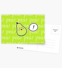 Happy Pear - two lof bees Postcards