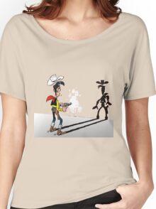luckyluke Women's Relaxed Fit T-Shirt