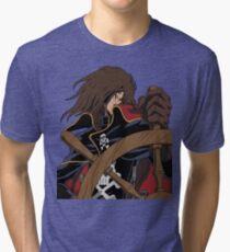 Captain Harlock Tri-blend T-Shirt