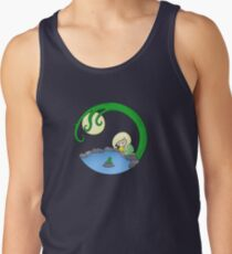 Girl At The Pond Tank Top