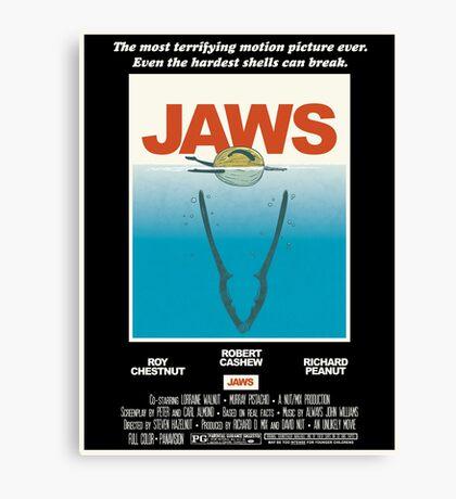 Jaws! Canvas Print
