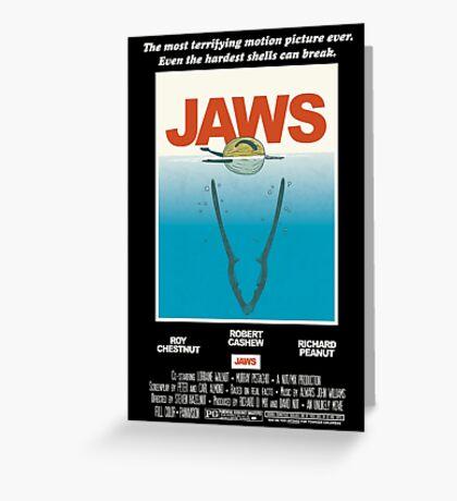 Jaws! Greeting Card