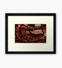As Blood Turns to Stone Framed Print