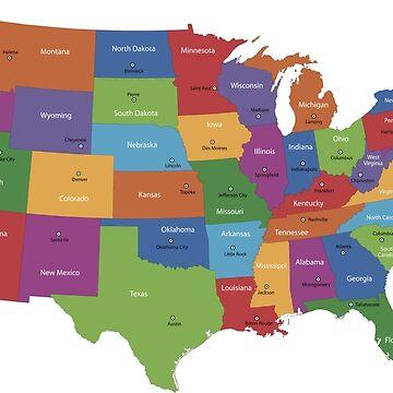 USA Map by amazingshop