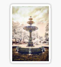 Peace Fountain Sticker