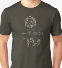The science of 20 sided dice. T-Shirt