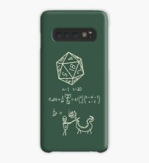 The science of 20 sided dice. Case/Skin for Samsung Galaxy