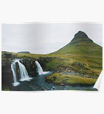 Kirkjufell, Grundarfjör, Island Poster