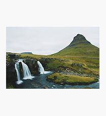 Kirkjufell, Grundarfjör, Island Fotodruck