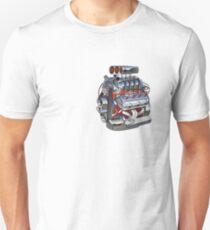 Cartoon turbo engine T-Shirt