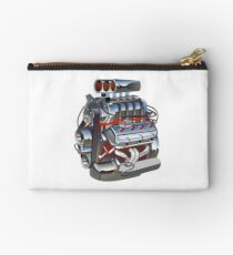 Cartoon turbo engine Studio Pouch