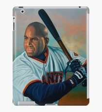 Barry Bonds painting iPad Case/Skin