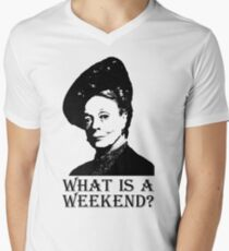 What is a weekend? Men's V-Neck T-Shirt