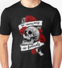 Camiseta ajustada Sin dolientes No funerales