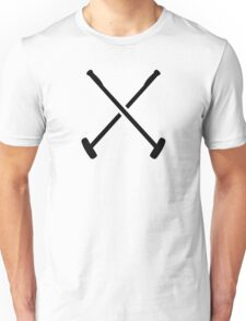 Crossed polo mallet Unisex T-Shirt