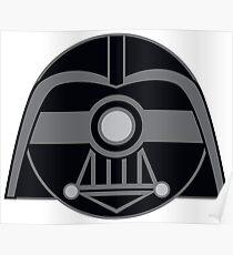 Darth Vader Pokemon Ball Mash-up Poster