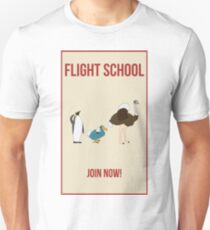 Flight School Illustration T-Shirt
