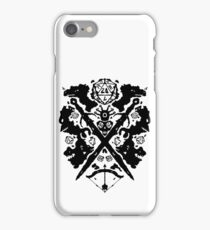 Roleplaying Rorschach iPhone Case/Skin