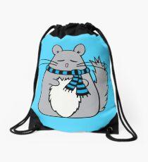 Chill Chinchilla Drawstring Bag