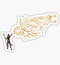Dragonfire Sticker
