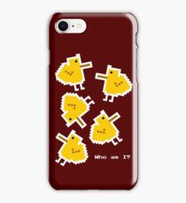Existential chicks iPhone Case/Skin