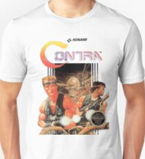 NES Contra Cover (Transparent)  T-Shirt