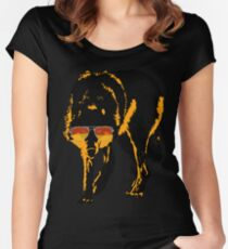 A Shady Wolf Women's Fitted Scoop T-Shirt