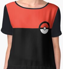 Pokemon trainer Women's Chiffon Top