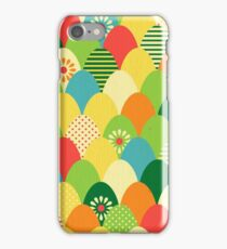 Cute,cool,colorful,egg head,pattern,fun trendy,abstract iPhone Case/Skin