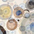 Subtle Circles II by Ruth Palmer