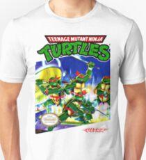 Teenage Mutant Ninja Turtles NES cover Unisex T-Shirt