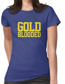 GOLD BLOODED WARRIORS Womens Fitted T-Shirt