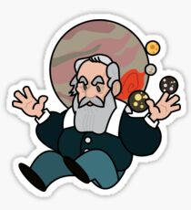 Galileo Galilei Sticker