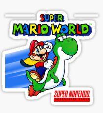 Pegatina Super Mario World SNES