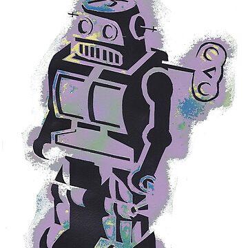 Robot Stencil by NeleVdM