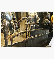 Antique Guns and Medieval Armour Poster