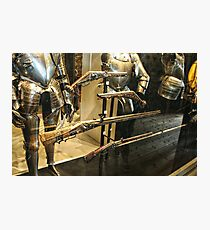 Antique Guns and Medieval Armour Photographic Print