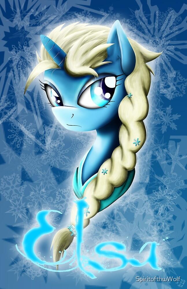 Frozen Angel by SpiritofthwWolf