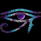 Eye of Horus Meets Chakra by 86248Diamond