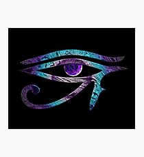 Eye of Horus Meets Chakra Photographic Print