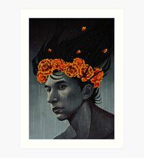 -Marigolds- Art Print