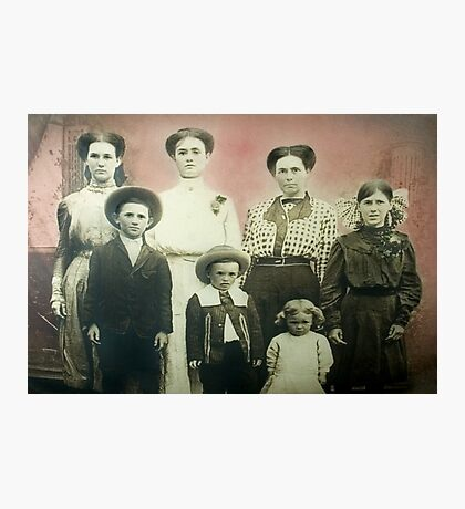 The Findley Family Photographic Print