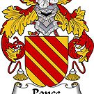 Ponce Coat of Arms/ Ponce Family Crest by William Martin