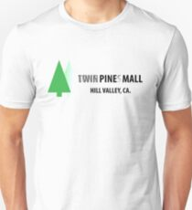 Twin Pines/Lone Pine Mall – BTTF, Optical Illusion T-Shirt