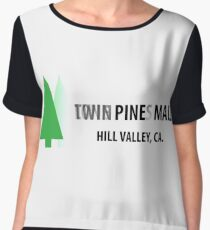 Twin Pines/Lone Pine Mall – BTTF, Optical Illusion Chiffon Top